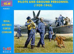 ICM48081 RAF Pilots and Ground Personnel 1939-1945